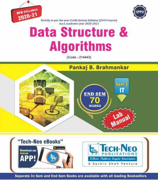Data Structure And Algorithms (Second Year Engineering Degree IT Branch End Sem 70 Marks Pune University 2020 New Syllabus)