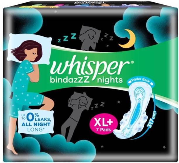 Whisper Ultra Nights XL Plus Wings Sanitary Pad