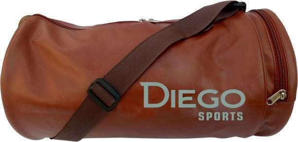 diego Gym BagSide Pocket (BROWN, Kit Bag)