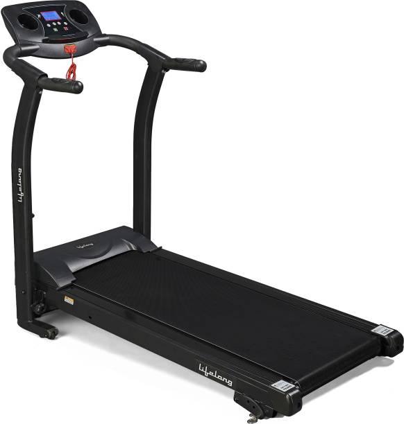 Lifelong LLTM207 Fit Pro 2 HP with Heart Rate Sensor,Motorized Treadmill