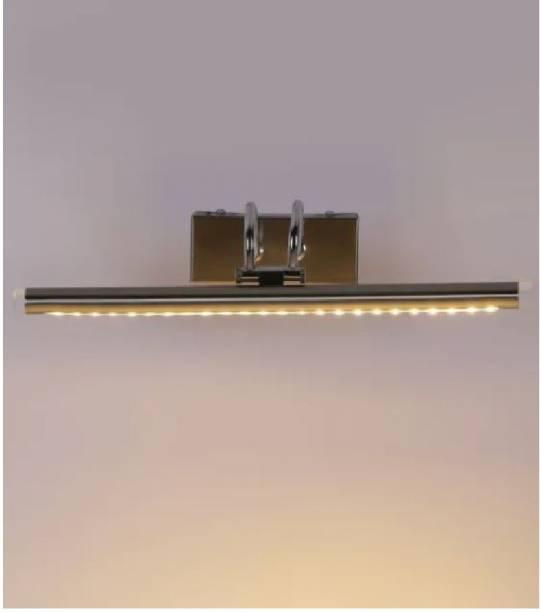 Lighthouse Lighthouse LED 12 Watt, Steel Body Picture Light/Mirror/Spot/Bathroom/Display/Wall Light ( Pack Of 2 ) Straight Linear LED Tube Light
