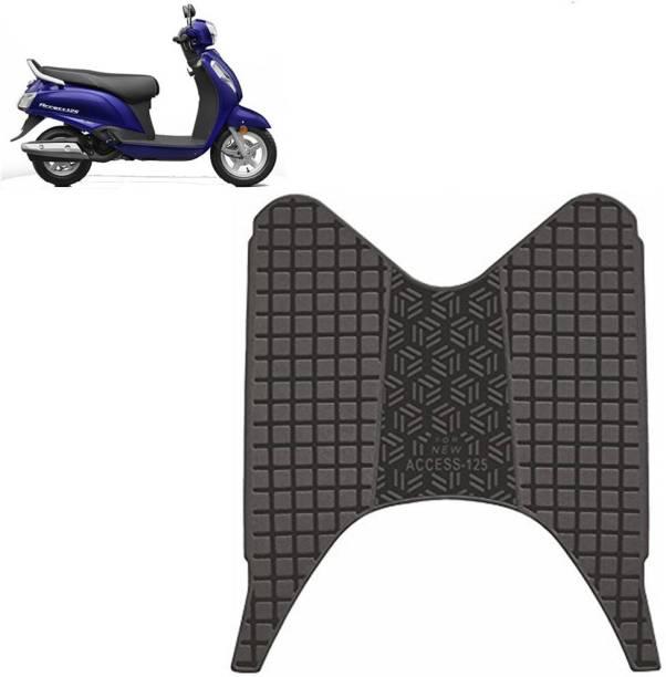 Ramanta Washable Floor Mat (PACK OF 1) Suzuki Access Two Wheeler Mat