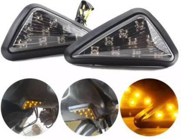 SELVIKE Front, Side LED Indicator Light for Yamaha, Hero R15 V2, R15, CBR 250, Ninja 250
