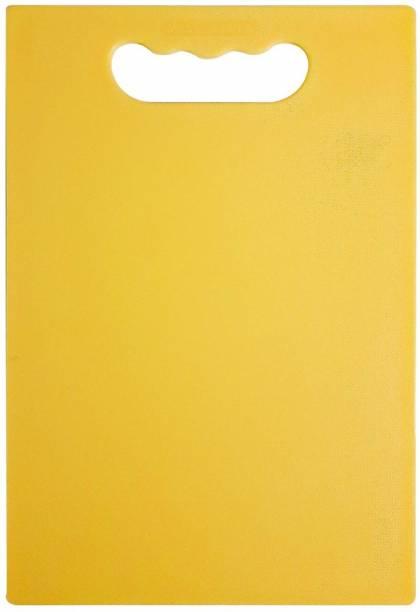 ATARC kitchen Household Tough & Durable Poly Cutting & Chopping Board Plastic Cutting Board Yellow Polypropylene Cutting Board