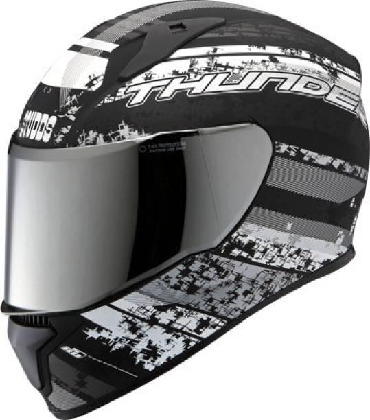 STUDDS THUNDER D1 FULL FACE WITH CLEAR VISOR Motorbike Helmet