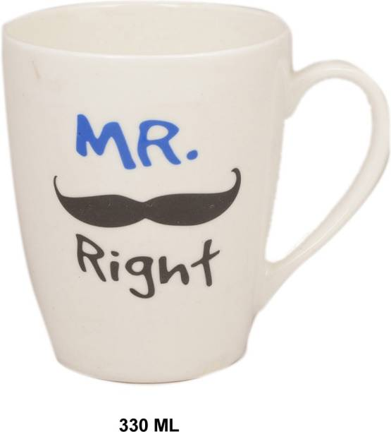 SUPER99 SR0009068- MR. RIGHT Ceramic Coffee Mug