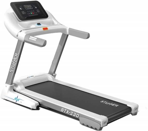 Stunner Fitness STX-230 2.0HP (4.0HP Peak) Motorised  Wireless Music Connectivity Treadmill