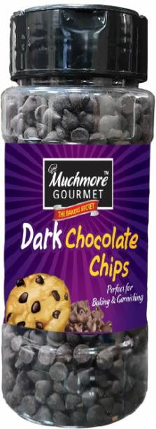 Muchmore Dark chocolate chips ( for Baking and Garnishing ) (175 G)) Chips