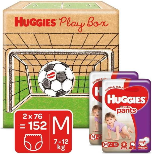 Huggies Wonder Pants Diapers Playbox - M