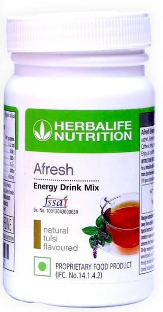 HERBALIFE Afresh Energy Drink Mix - Tulsi Flavor Energy Drink