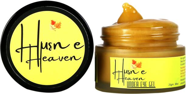 Husn e heaven Under Eye-Gel with the Goodness of Almond and Tulsi   25gm