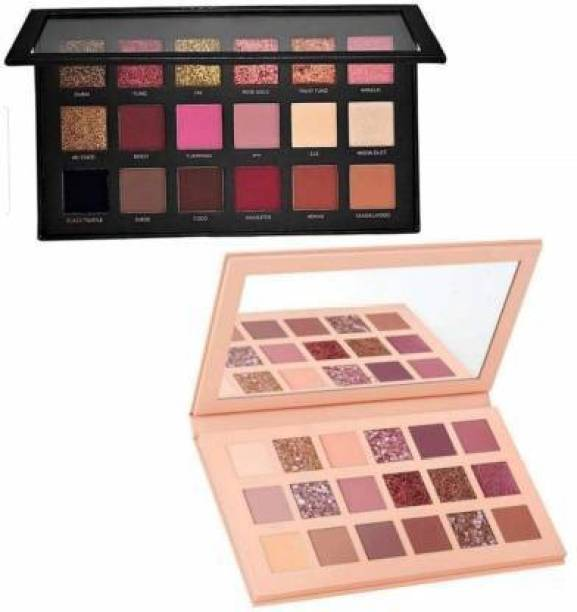 SKINPLUS Nude Eye Shadow Palette and Rose Gold Eyeshadow 36 g