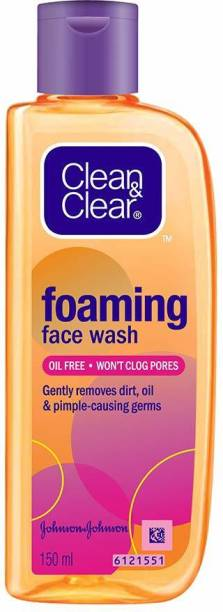 Clean & Clear FOAMING FACE WASH 150 ML Face Wash