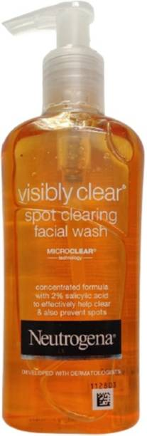 NEUTROGENA Visibly Clear Spot Cleaning Facial Wash with Microclear Technology Face Wash