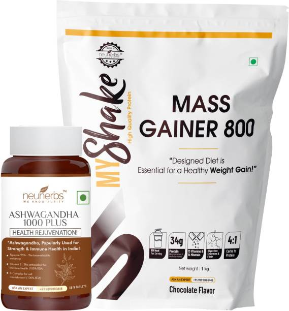 Myshake Power Mass Gainer Combo