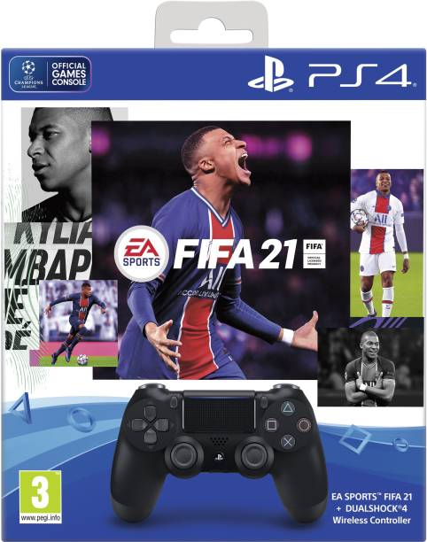 SONY DualShock 4 with FIFA 21 Bluetooth  Gamepad