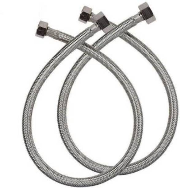 V-Guard 18 inch 304 Grade Stainless Steel Connection Pipe , (2 Pcs. Set) Hose Pipe 18 inch 304 Grade Stainless Steel Connection Pipe , (2 Pcs. Set) Hose Pipe Hose Pipe