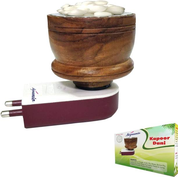 Signamio Wooden Kapoor dani Wooden Incense Holder