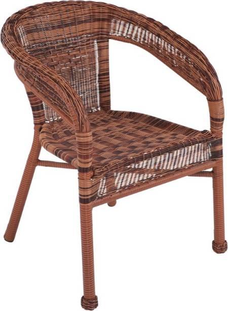 spacepanda Sleek Metal Outdoor Chair