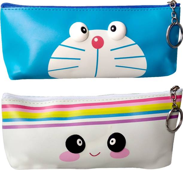 ARVANA Cosmetic pouch stationary pouch for kids Art Polyester Pencil Boxes