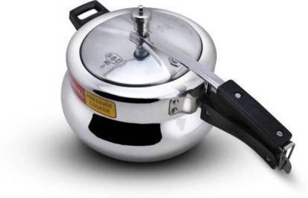 Carnival Pressure cooker 1.5 ltr (induction bottom)inner lid pure virgin Aluminium 1.5 L Induction Bottom Pressure Cooker