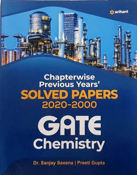 Arihant Gate Chemistry Solved Paper 2000-2020