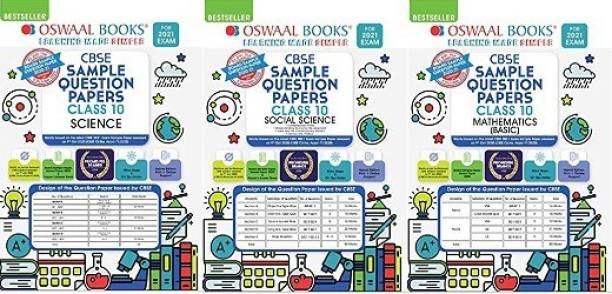 Oswaal CBSE Sample Question Paper Class 10 Mathematics BASIC SOCIAL SCIENCE AND SCIENCE COMBO
