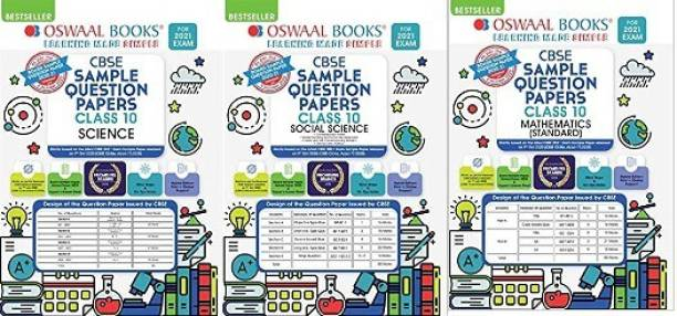 Oswaal CBSE Sample Question Paper Class 10 Mathematics Standard SOCIAL SCIENCE AND SCIENCE COMBO