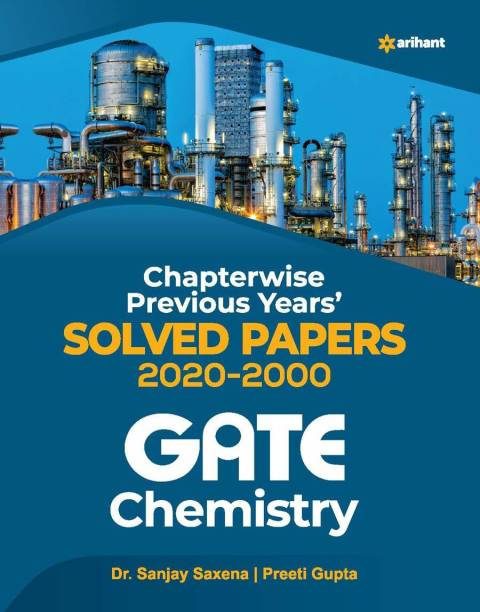 Gate Chemistry Chapterwise Previous Years Solved Papers 2021