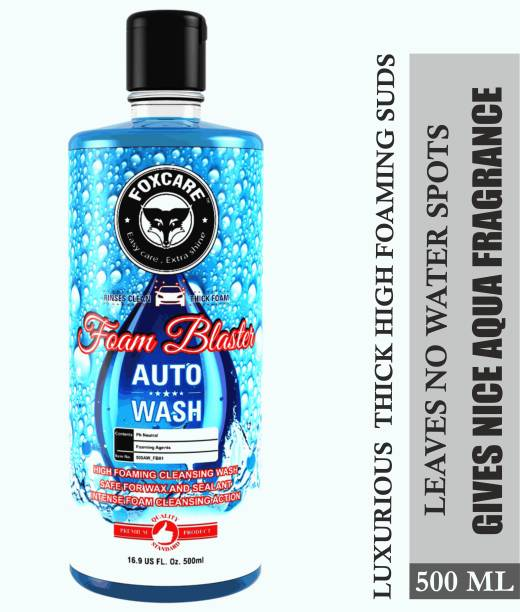 FOXCARE FOAM BLASTER AUTO WASH SHAMPOO Car Washing Liquid