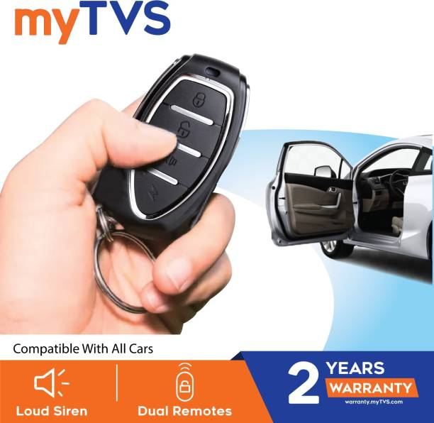 myTVS Central Locking And Alarm System For 4 Door And Compatible With All Cars ( Universal Car ) Central Locking System