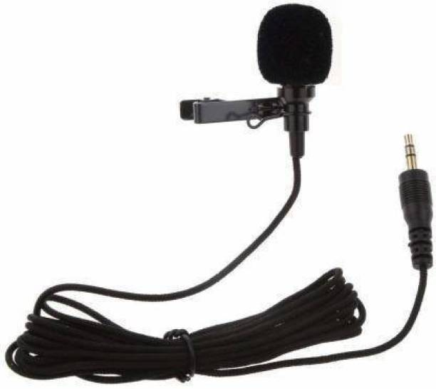 Timyka 3.5mm Clip Microphone For Youtube   Collar Mic for Voice Recording   Lapel Mic Mobile, PC, Laptop, Android Smartphones Microphone