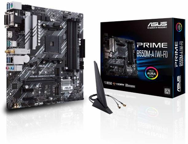 ASUS Prime B550M-A WiFi 6 Motherboard