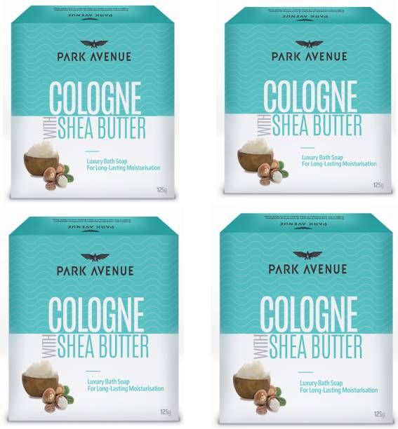 PARK AVENUE Cologne With Shea Butter Luxury Bath Soap For Long Lasting Moisturisation