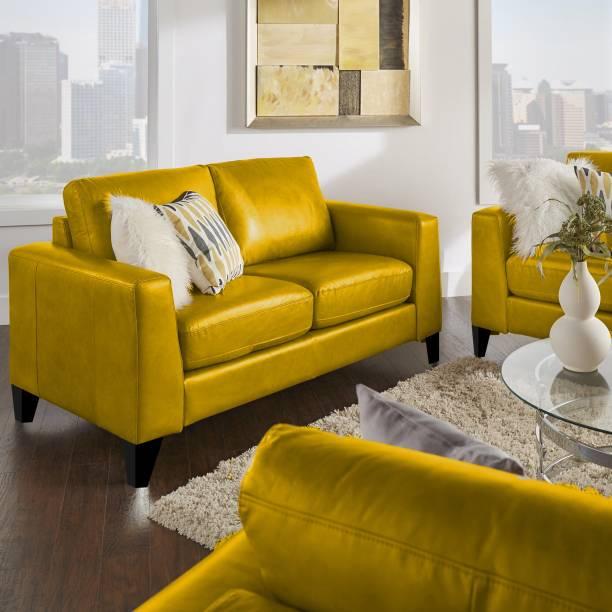 SHAKURALIVING RUSSSEL Leatherette 2 Seater  Sofa