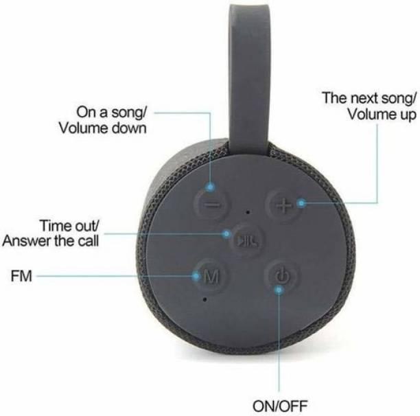 YODNSO speaker Portable Sub woofer Wireless Outdoor bluetooth speaker 10 W Bluetooth Laptop/Desktop Speaker