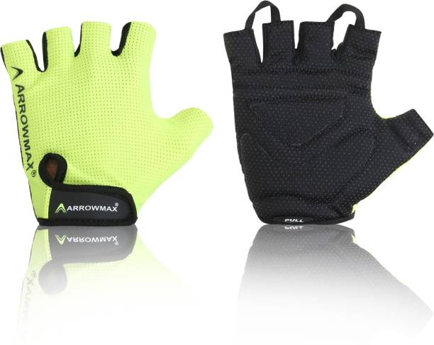 ArrowMax BEST IN CLASS FLEX SPORTS/FITNESS GLOVES WITH BREATHABLE Gym & Fitness Gloves