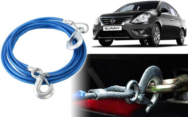 Selifaur T3M55 12mm Heavy Duty 4Mtr 8000kgs Car Auto Full Steel Towing Tow Cable Rope For Sunny New 4 m Towing Cable