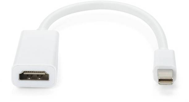 VIBOTON  TV-out Cable Mini DisplayPort to HDMI Male to Female Adaptor Cable for MacBook Pro/Air - with HD Audio Video Converter