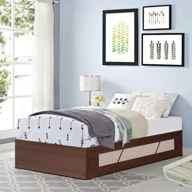 TREVI Native Engineered Wood Single Box Bed