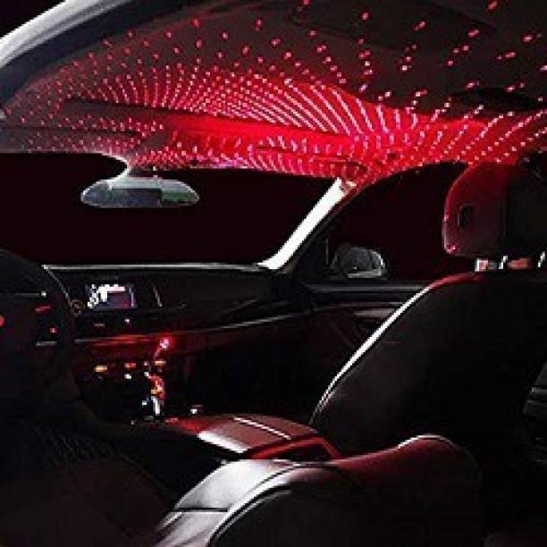 keeva Ambient Star Light, 12V LED Car Atmosphere Lamp, 360 Degree Rotation Use For USB Disco Light/Night Light/Room/Car/Party Decoration Disco Laser Light Car Fancy Lights Car Fancy Lights