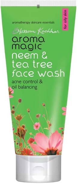 Aroma Magic Neem & Tea Tree ( Acne Control and Oil Balancing)  100ml 1Pcs Face Wash