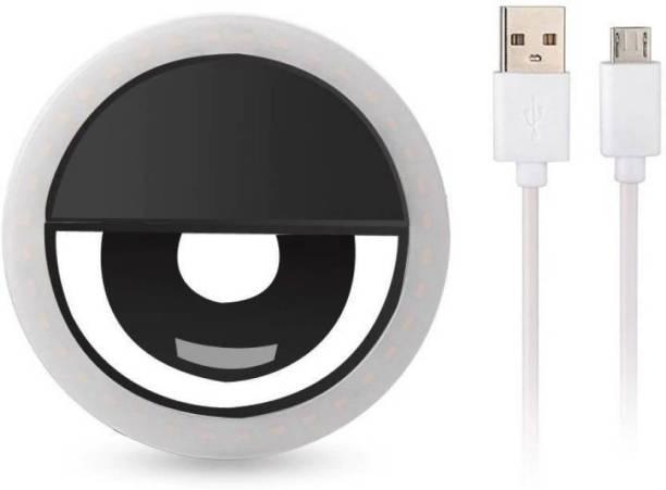 ARHUB Rechargeable LED Selfie Ring Flash Light Ring Flash