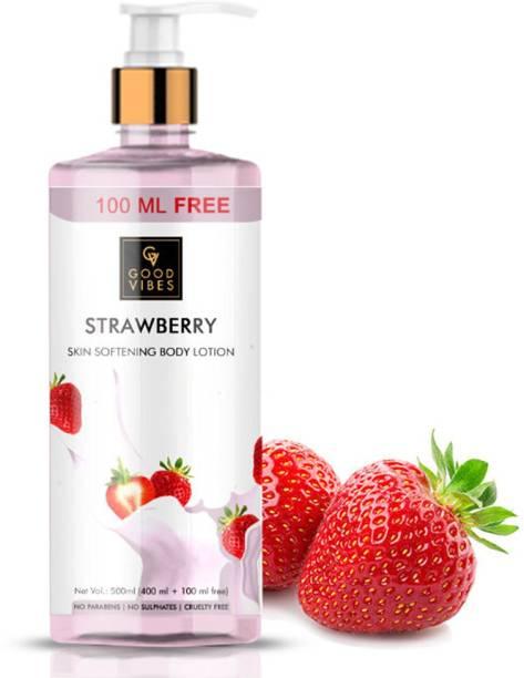 GOOD VIBES Strawberry Skin Body Lotion