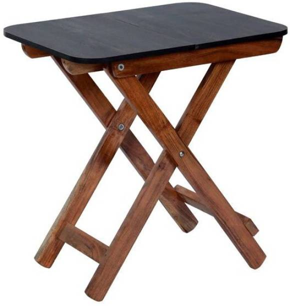 spacepanda William Solid Wood Outdoor Table