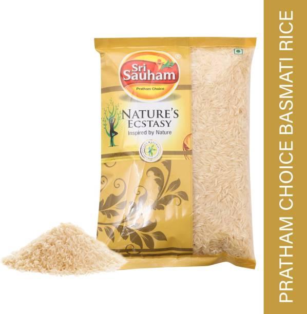 Sri Sauham pratham choice basmati rice Basmati Rice (Long Grain, Raw)