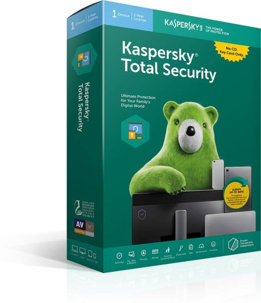 Kaspersky Total Security 1 User 1 Year