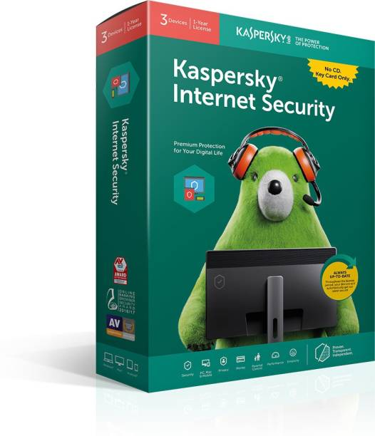 Kaspersky Internet Security 1 User 1 Year