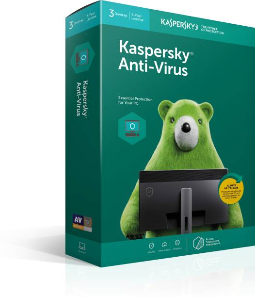 Kaspersky Anti-virus 3 User 3 Years