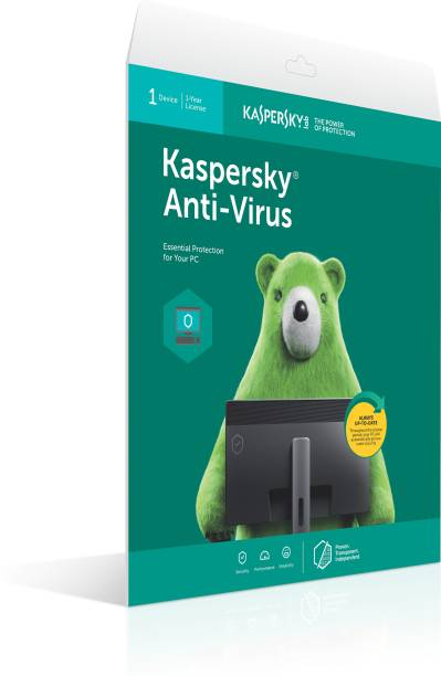 Kaspersky Anti-virus 1 User 1 Year